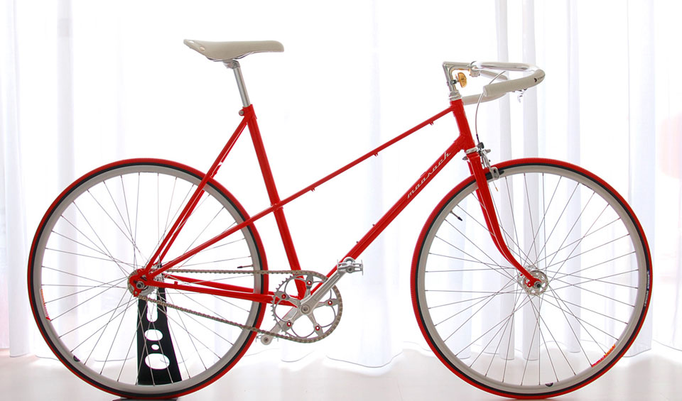Ballroom Moosach rood red bikes dames ladies